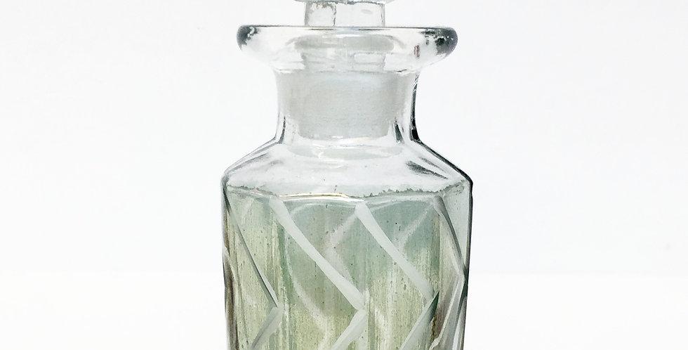 Flacon vintage en verre