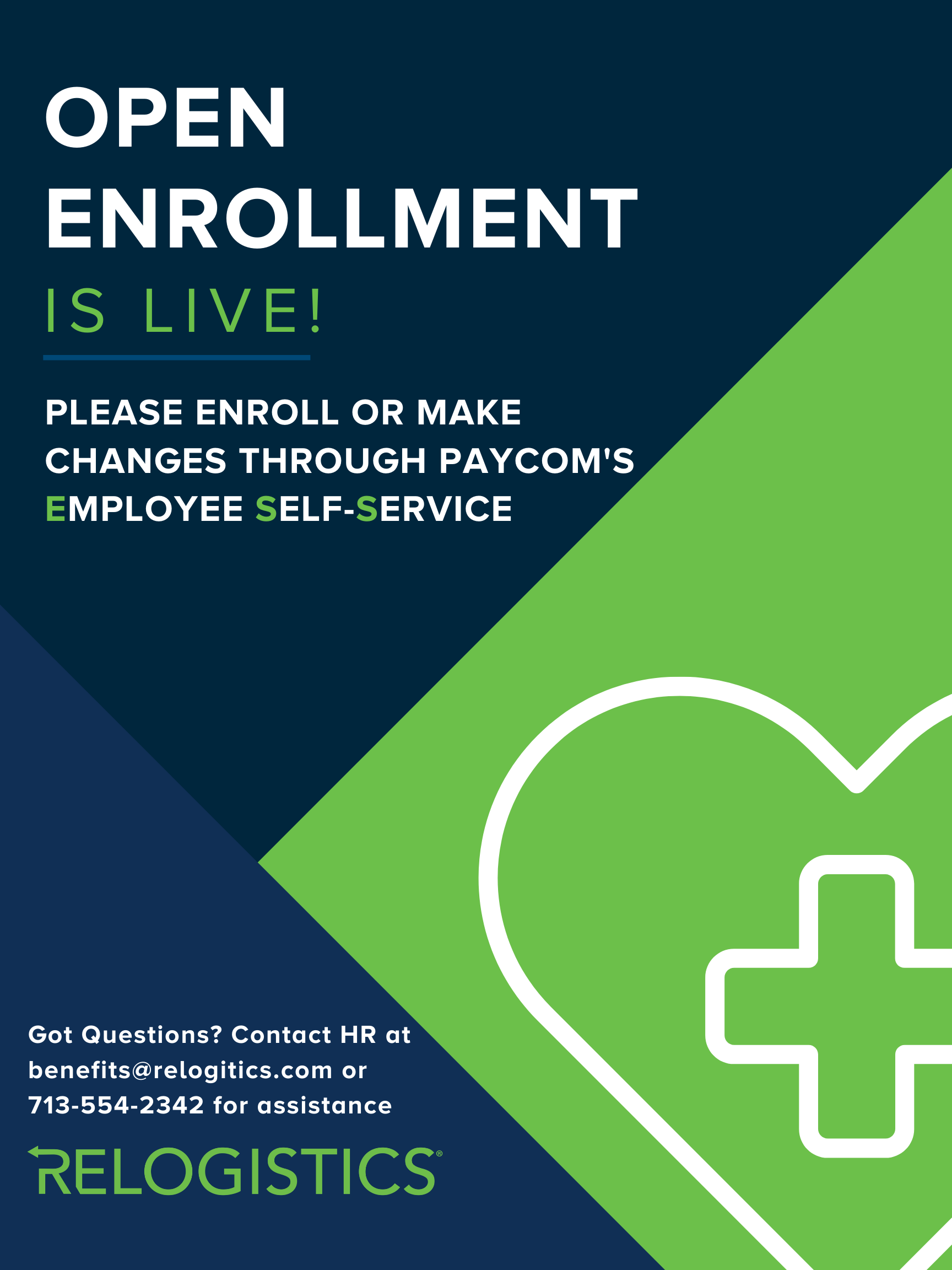 Open Enrollment Poster
