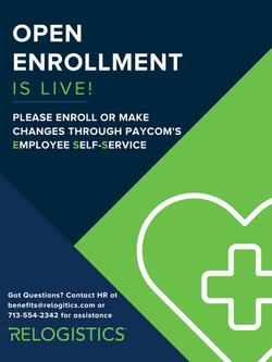 Open Enrollment Poster