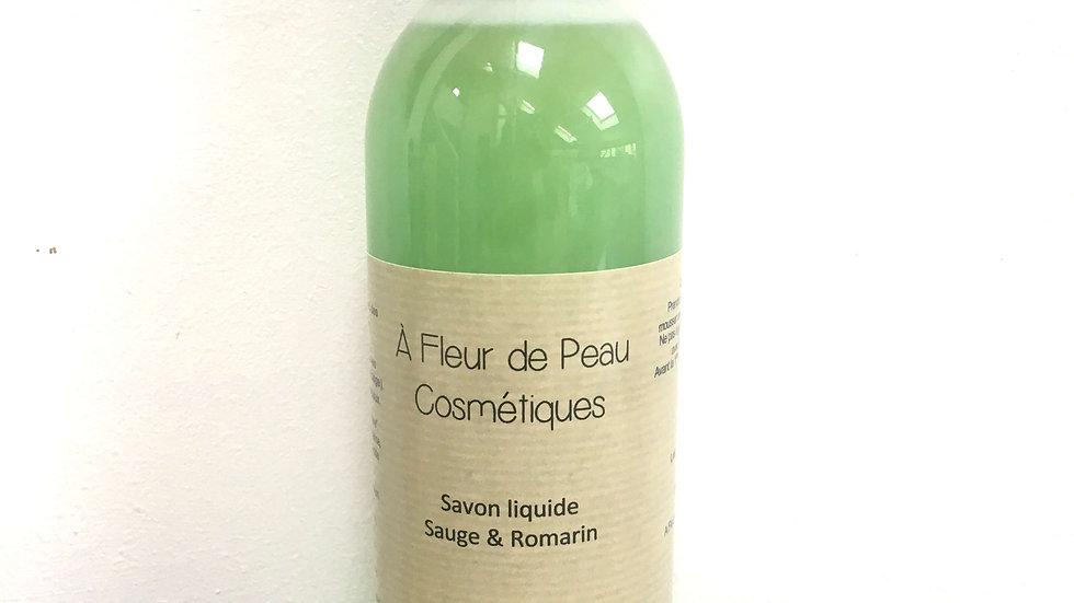 Savon liquide sauge et romarin 250ml