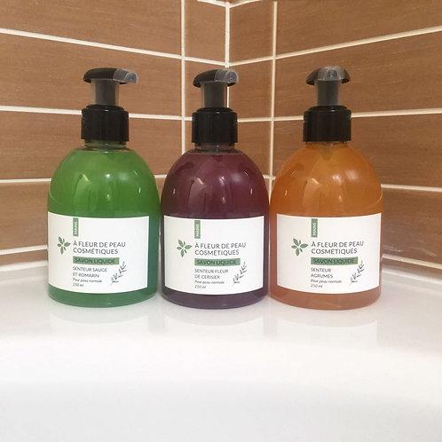 Trio de savons liquides 3 x 250ml