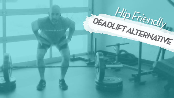 Avoid Hip Pain In Your Deadlift With This Alternative