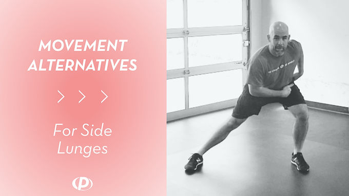 Movement Alternative For Side Lunges