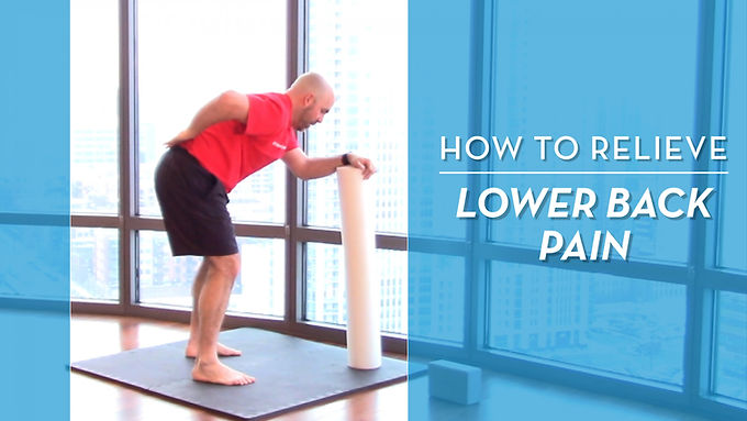 3 Simple Stretches & Exercises For Lower Back Pain