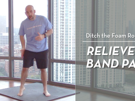 IT Band Pain Relief (no foam roller needed!)