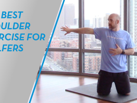 The Best Shoulder Exercise For Golfers