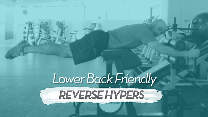 How To Do Reverse Hypers Without Causing Lower Back Pain