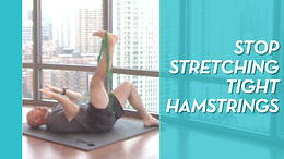 The Best Hamstring Stretch (That's Not A Stretch)