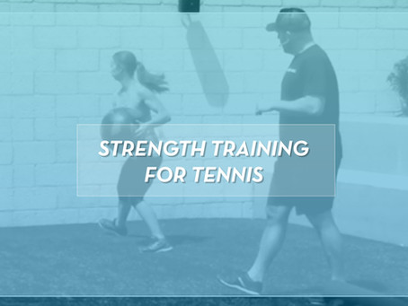 Strength Training Workout For Tennis Players