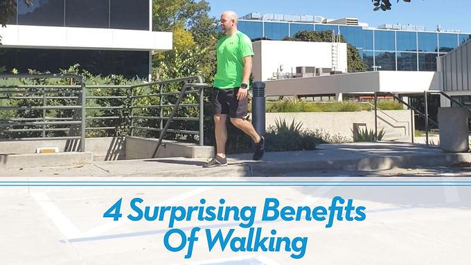 4 Surprising Benefits of Walking