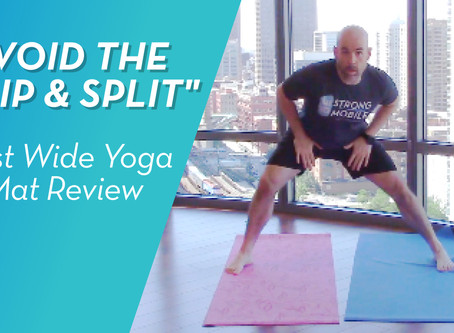 REVIEW: The Best Wide Yoga/Exercise Mat Ever!
