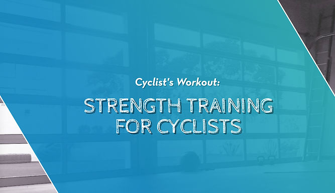 Mobility Training For Cyclists