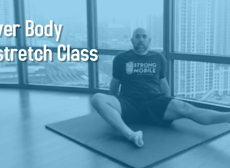 Lower Body Kinstretch Class (Beginners Welcome!)