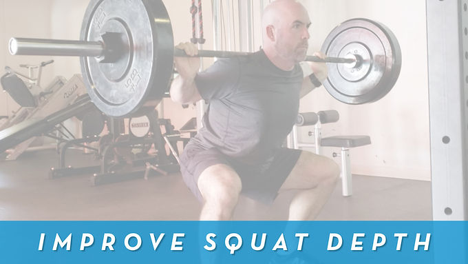 How To Squat Deeper And Get Out Of The Hole