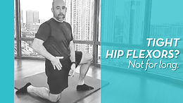 Strengthen Your Hip Flexors to Relieve Tightness (Finally!)