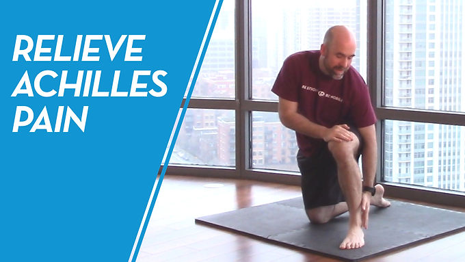 How To Relieve Achilles Pain & Discomfort