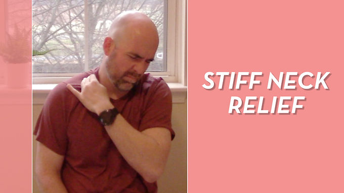 40 Second Exercise For Stiff Neck Relief