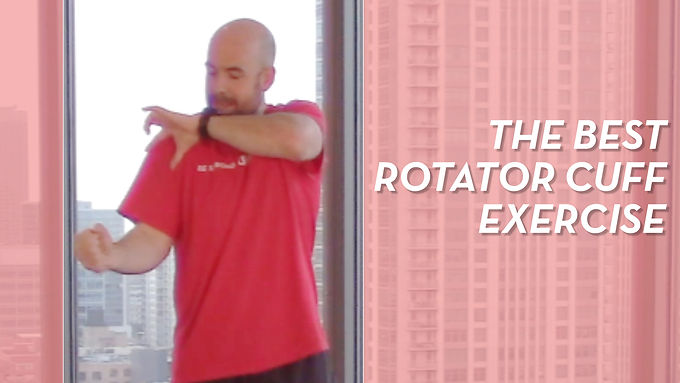 Simple Exercises For Rotator Cuff Issues
