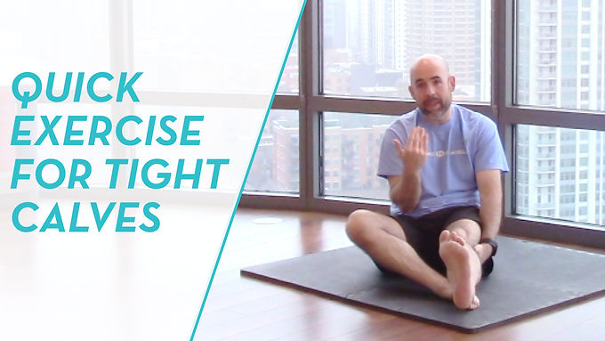 How to Relieve Tight Calves From Running