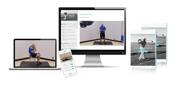 Strong and Mobile Golfer 30 day online mobility training program