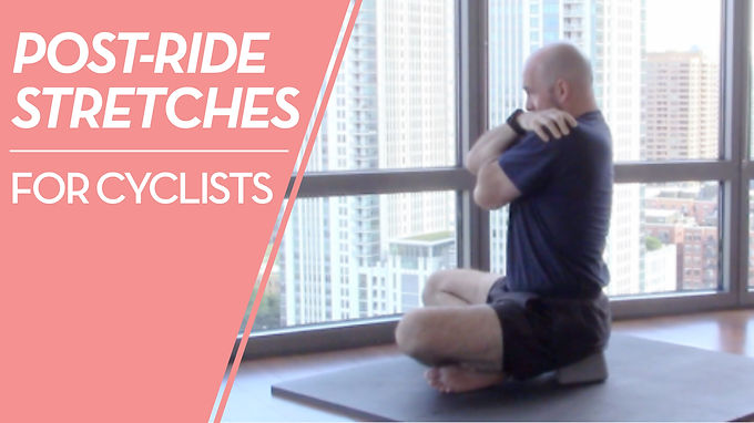 2 Stretches Every Cyclist Should Do After A Ride