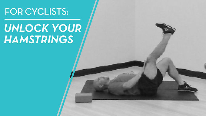 Unlock Tight Hamstrings From Cycling With This Exercise