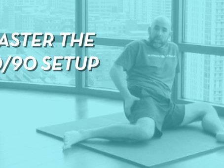 How To Do The 90/90 Stretch (Correctly!)