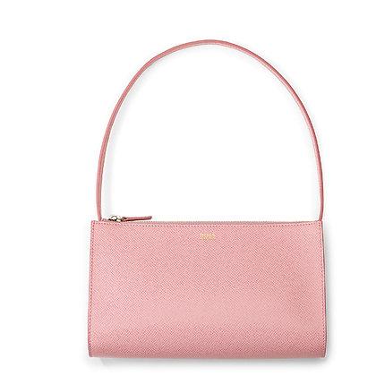 Hugo Boss Ladies Pink Leather Mini Lady Bag