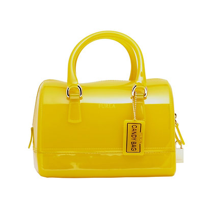 FURLA CANDY MINI SATCHEL Lady Bag (Yellow)
