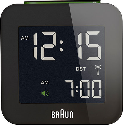 Braun Digial Travel Clock : BNC008BK