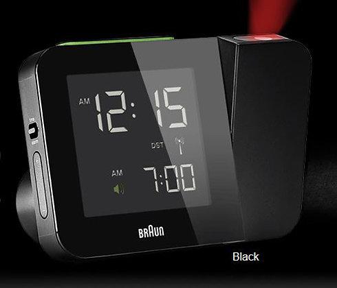 Braun Projection Clock : BNC015BK-RC