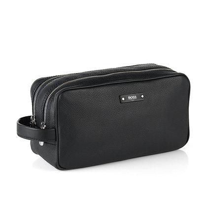 Hugo Boss Leather Traveller Washbag
