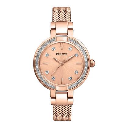 Bulova Diamond Ladies Watch