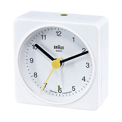 Braun Travel Clock : BNC002WHWH