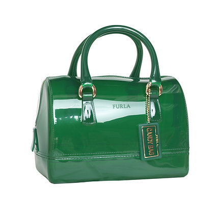 FURLA CANDY MINI SATCHEL Lady Bag (Green)
