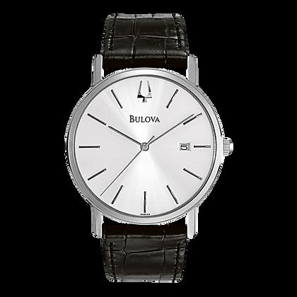 Bulova Global Gent Leather Watch