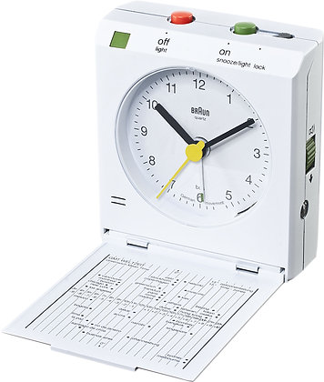 Braun Travel Clock : BNC005WHWH