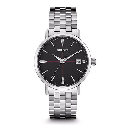 Bulova Classic Stainless Steel Quartz Gent Watch