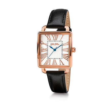 Folli Follie Retro Square Ladies Quartz Watch