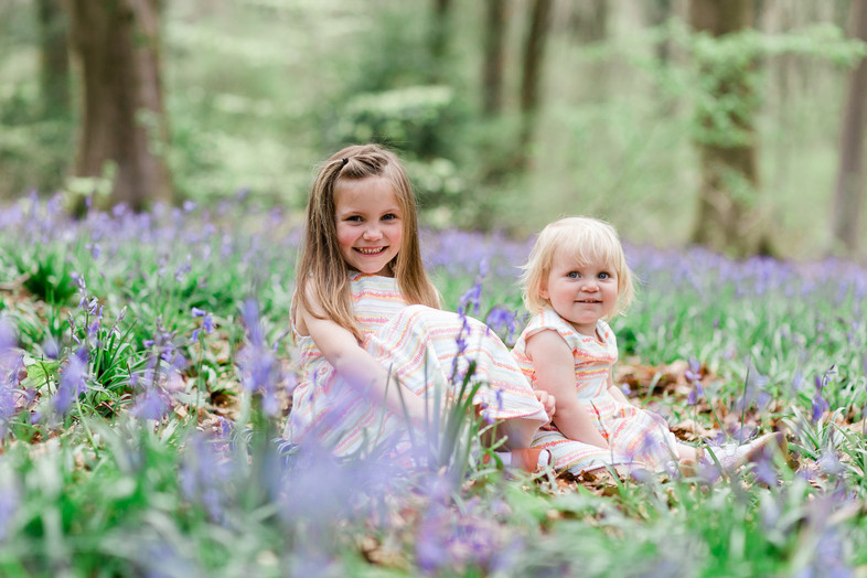 Bluebell Photo Session with photographer southampton