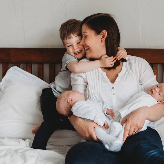 relaxed Family & Newborn photographer london