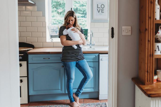 Newborn Lifestyle Photographer West Suss
