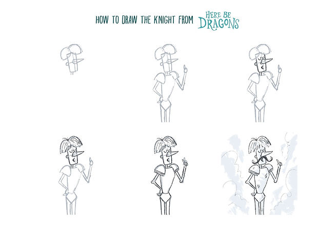 thumbnail_how_to_draw_the_knight_here_be