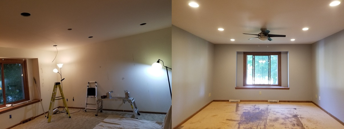 Living Room Can Lighting