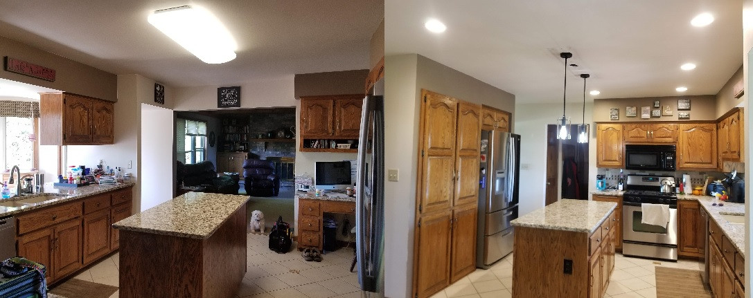 Kitchen Can Lighting