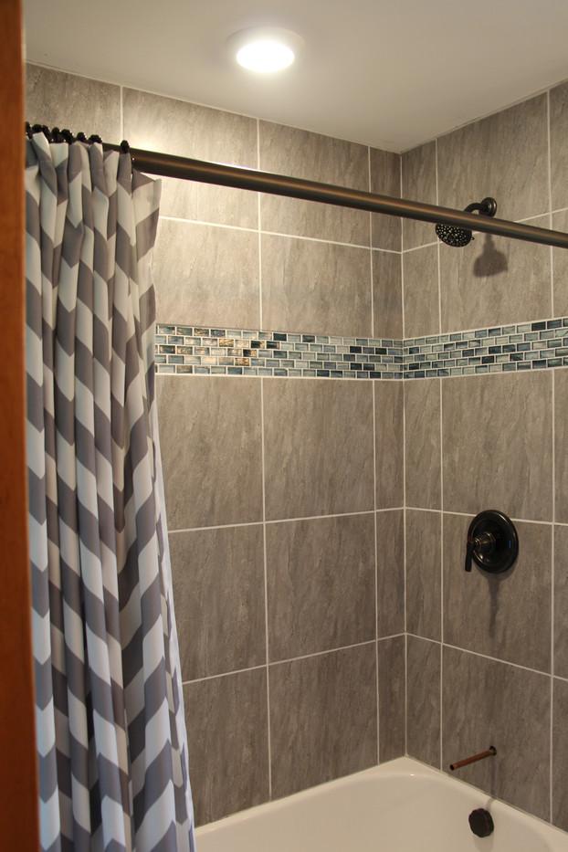 Added Shower Lighting