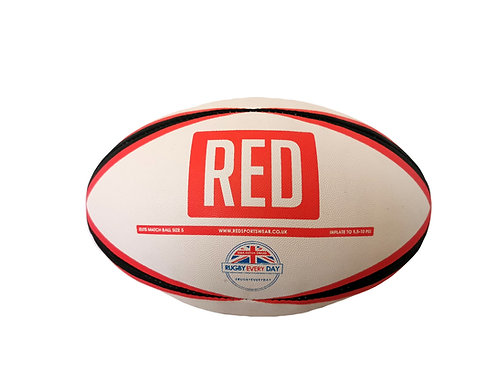 RED Size 5 Match Ball