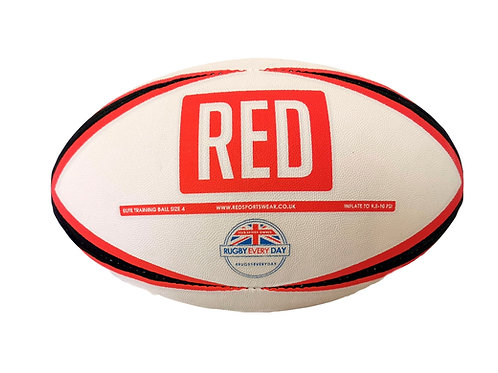 RED Size 4 Training Ball