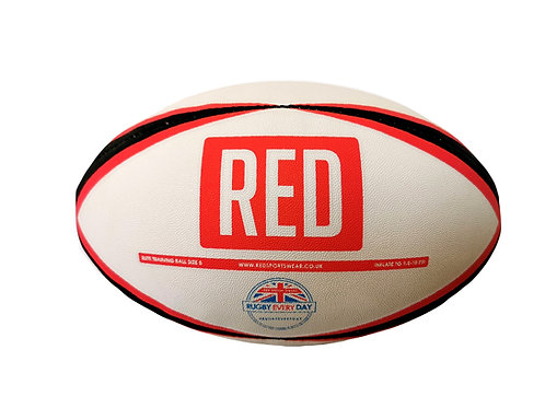 RED Size 5 Training Ball