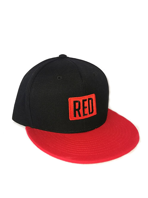 RED SNAPBACK RED